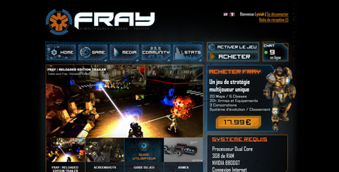 Miniature - Projet Site web Fray